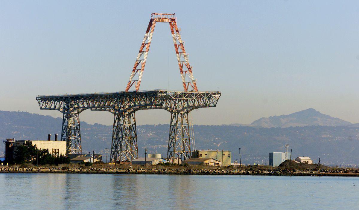 Hunter's Point Shipyard.