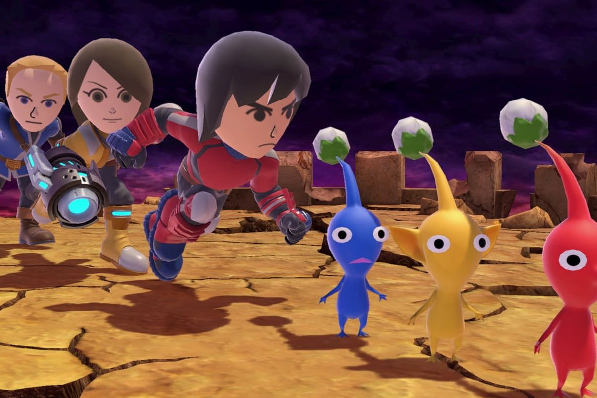 Super Smash Bros  Ultimate DLC to include Mii Fighter costumes - Polygon