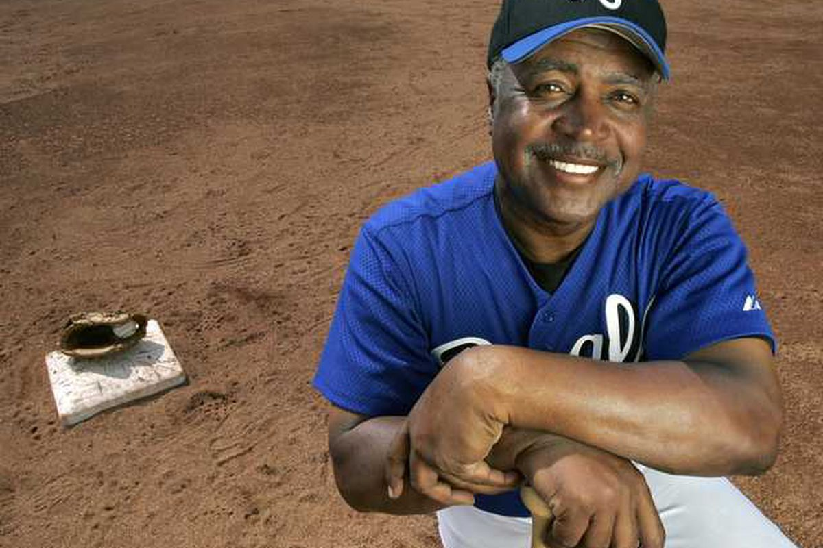 Frank White of the Kansas City Royals