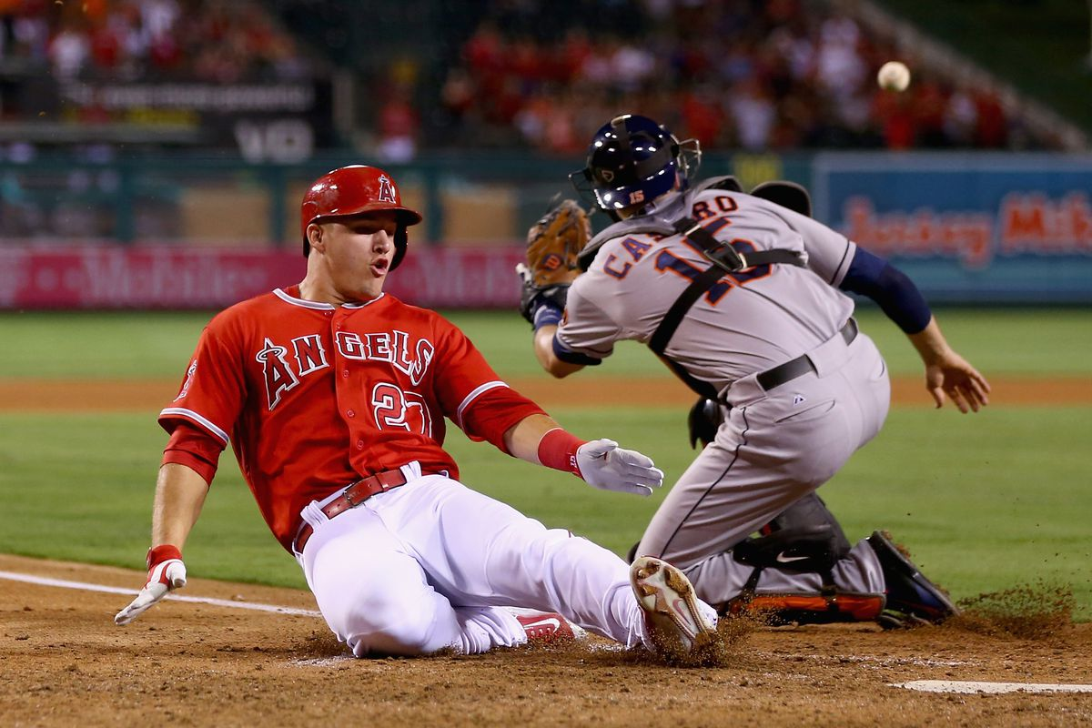 Trout looks to come alive against the division leaders