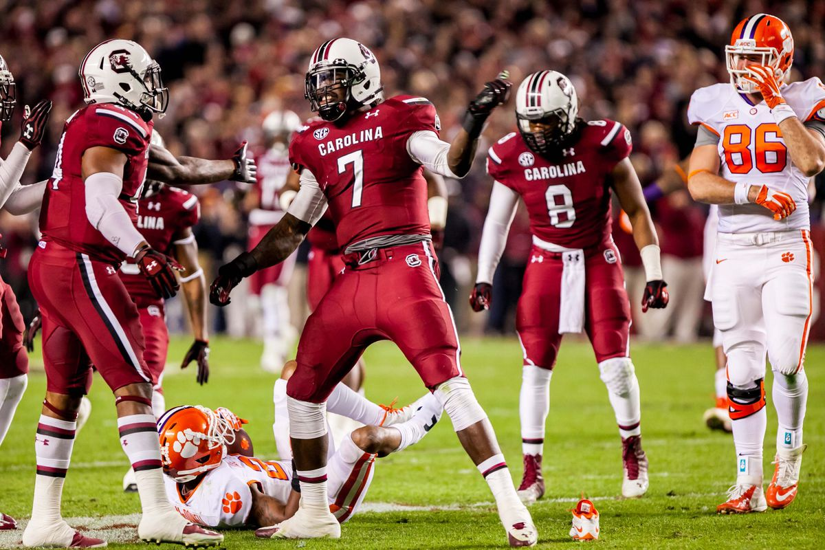 A picture of JD Clowney.