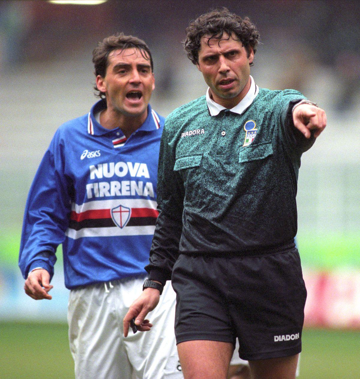 Italian Soccer - Serie A - Sampdoria v Piacenza - Luigi Ferraris Stadium