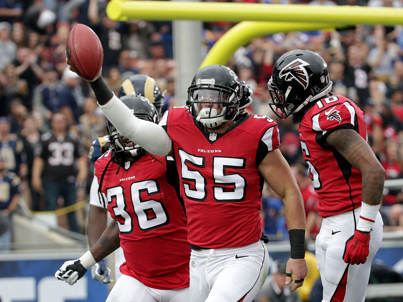 Free agency rumors: Lions interested in Falcons LB Paul Worrilow ...