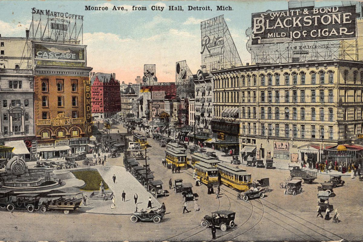 Step Back In Time With Greetings From Detroit Curbed Detroit