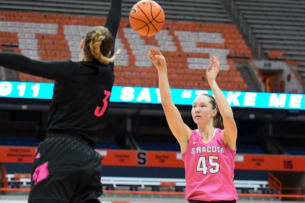 Syracuse Orange Women S Basketball Preps For Tough Early Schedule