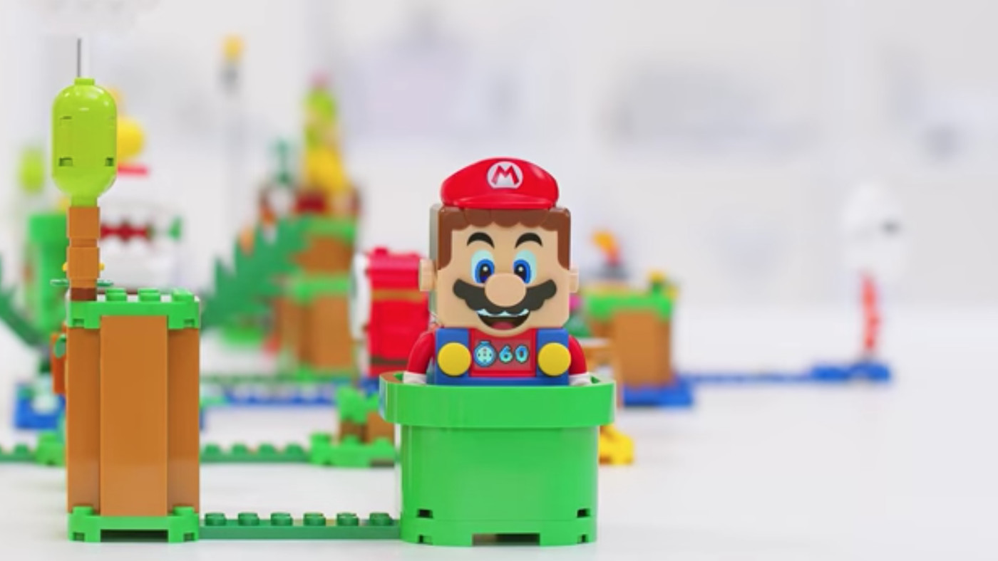 Nintendo S First Lego Set Is A Playable Super Mario Game Deseret News