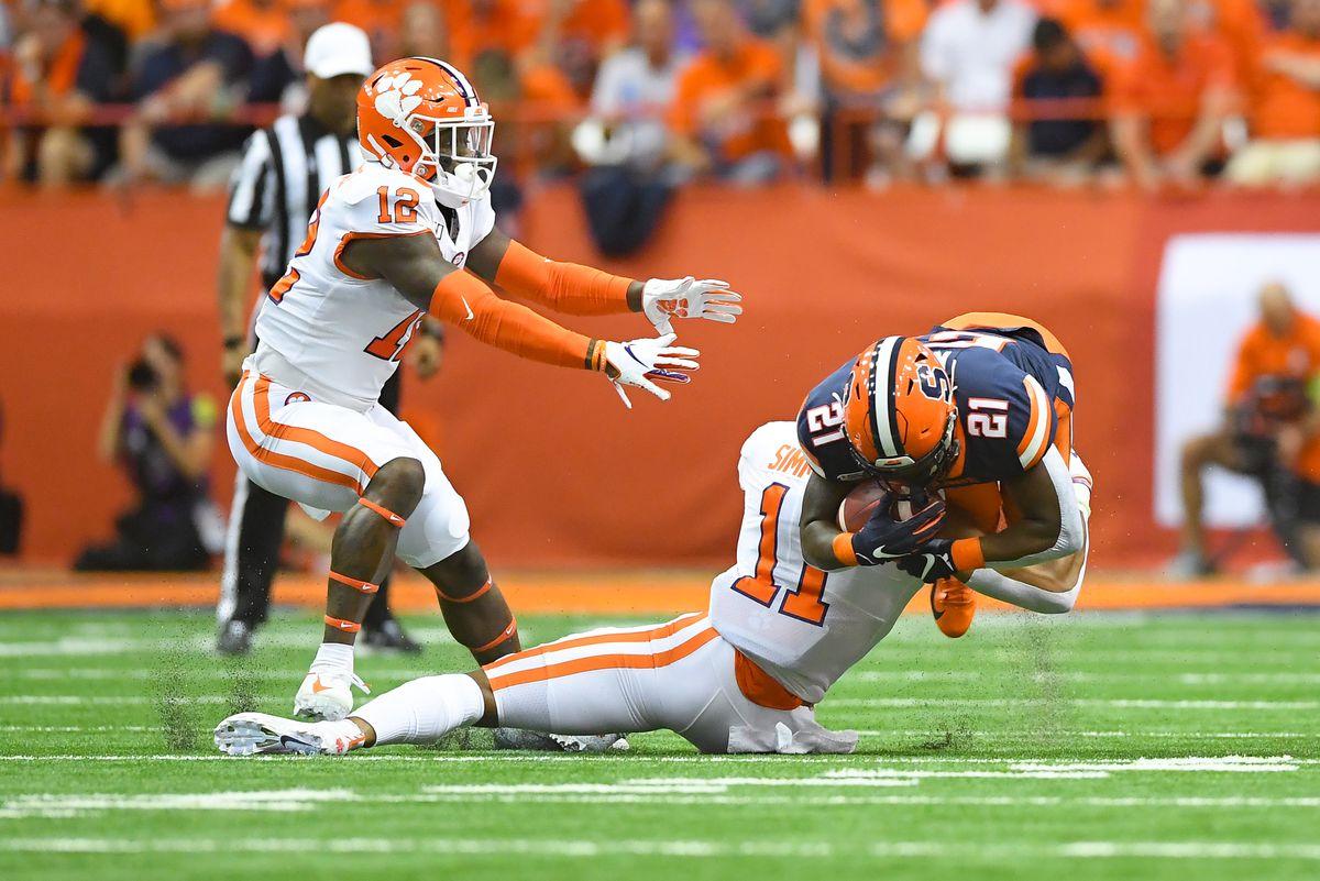 NCAA Football: Clemson at Syracuse
