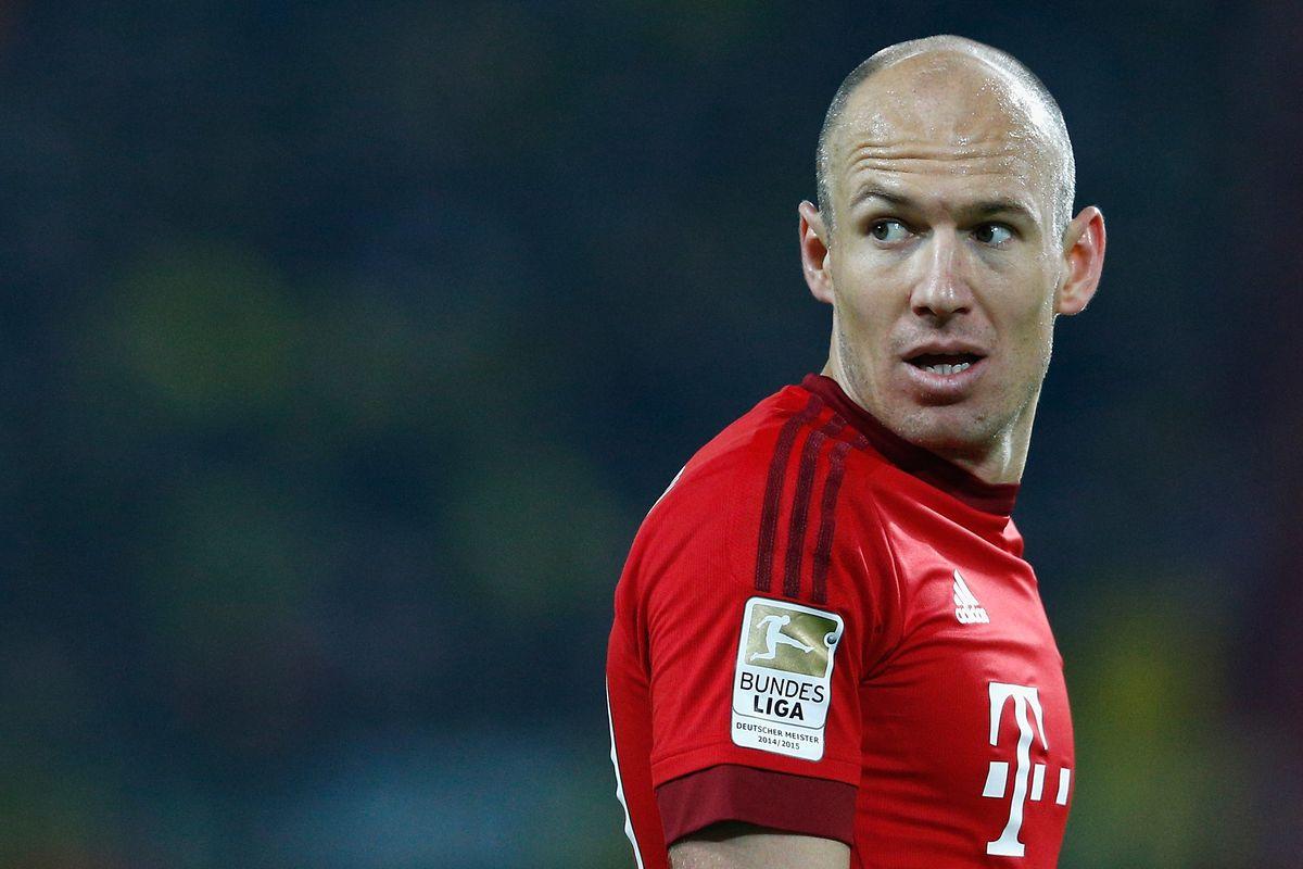 Arjen Robben will likely miss Bayern Munich s Champions League