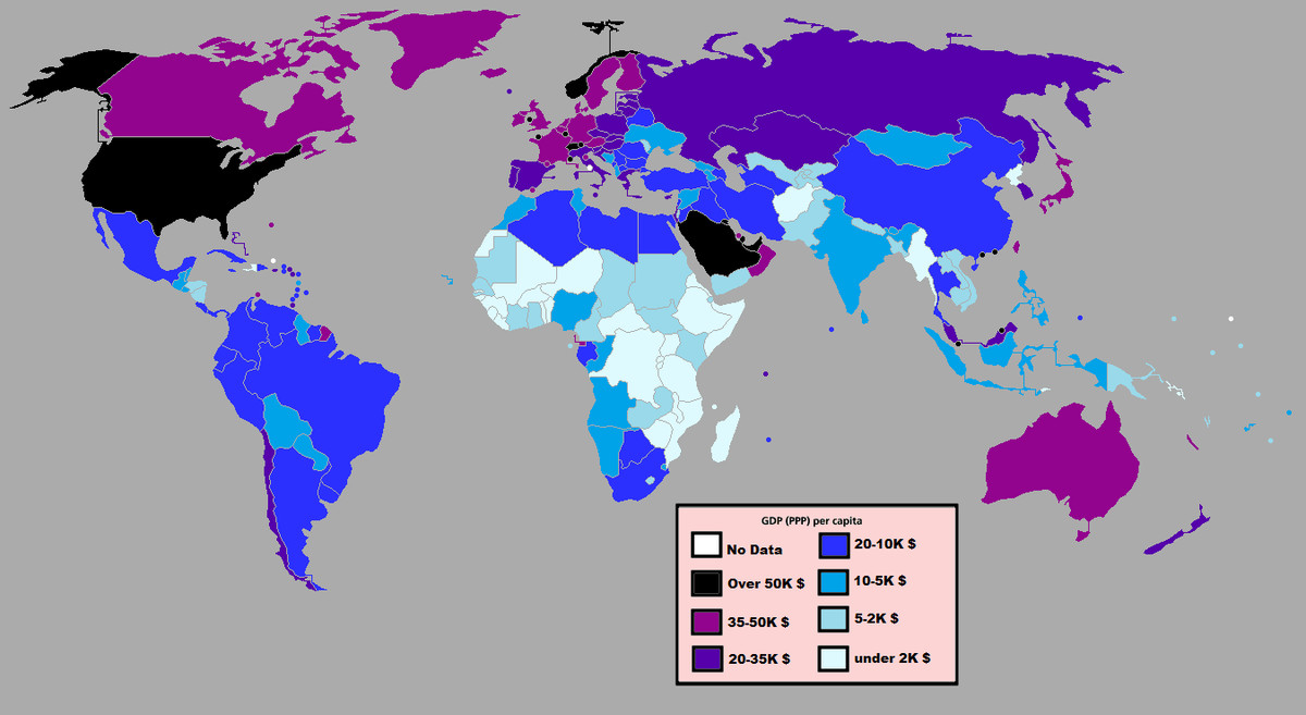 38 maps that explain the global economy - Vox International Gdp Of Maps on international manufacturing map, international language map, international india map, international energy map, international risk map, international stock market map, international poverty map, international area map, international food map, international education map, international water map, international trade map, international business map,