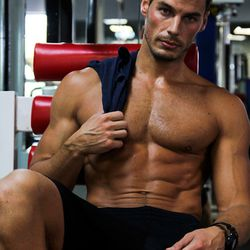 """<a href=""""http://miami.racked.com/archives/2014/08/19/hottest-trainer-contestant-7-eric-richard-allen.php"""">Eric Richard Allen</a> of Infinity Fitness/Image via Ashley Brozic"""