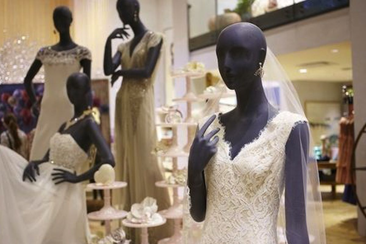 An image from the BHLDN pop up shop at Anthropologie in October