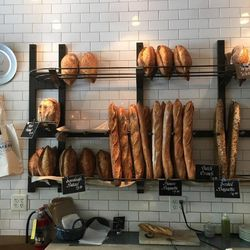 Eva\'s Bakery makes and serves artisan breads, pictured here.