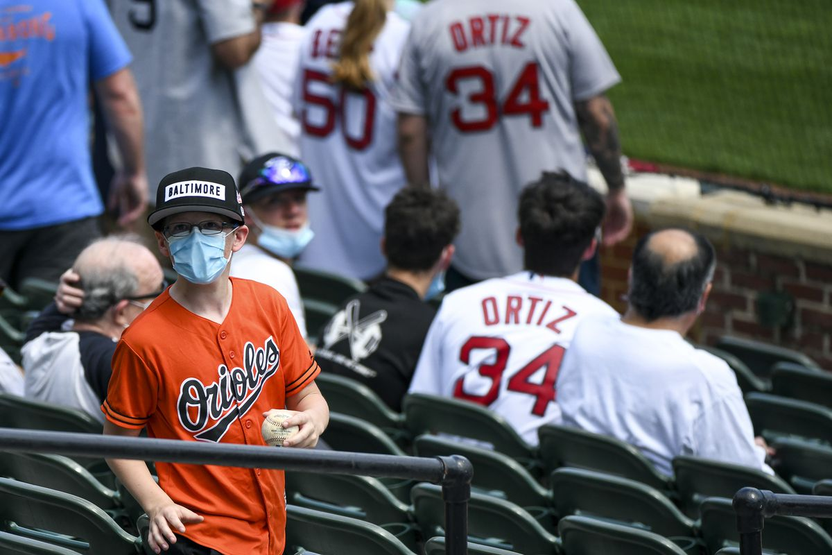 MLB: APR 11 Red Sox at Orioles