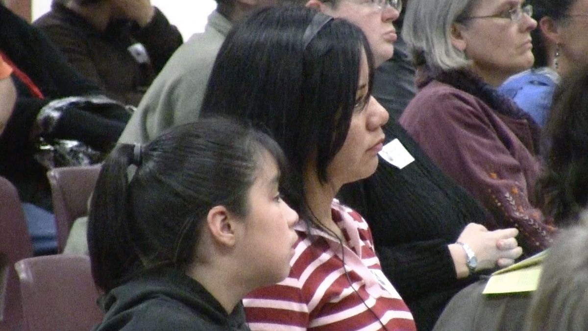 More than 100 MOP members attended Thursday's meeting urging DPS leaders to be bold in their reforms.