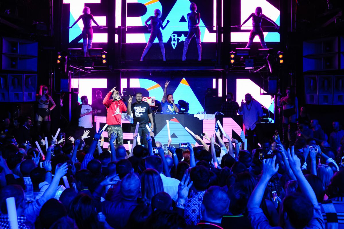 T-Pain performs at Marquee