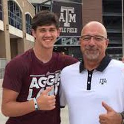 <strong>GRANT GUNNELL: </strong>He committed to Texas A&M in June 2017, and at the time he was a five-star recruit rated as the second-best QB in the 2019 recruiting class. He would decommit from A&M only eight months later, following the hiring of Jimbo Fisher.