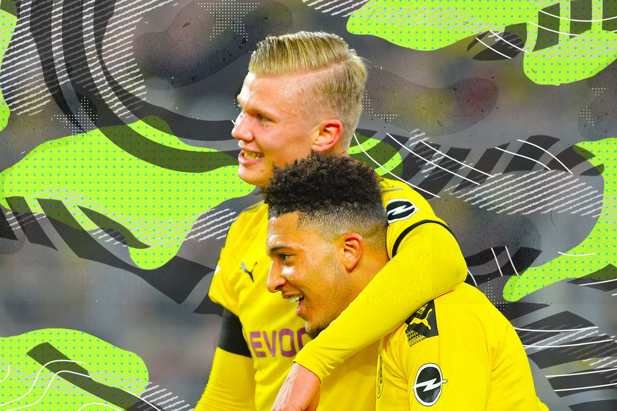 Watch Erling Haaland And Jadon Sancho At Borussia Dortmund While You Can Sbnation Com