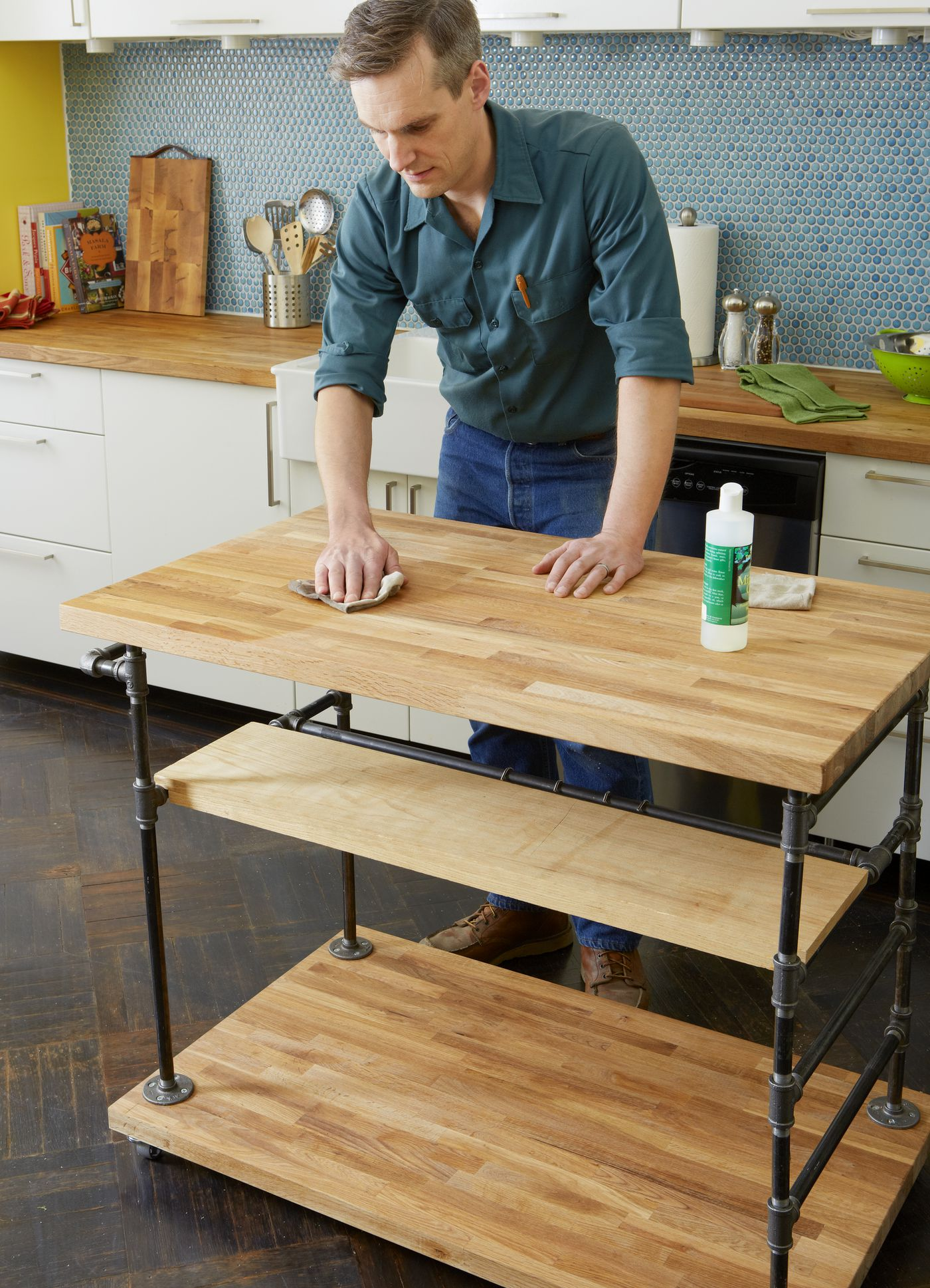 How To Build A Butcher Block Island This Old House