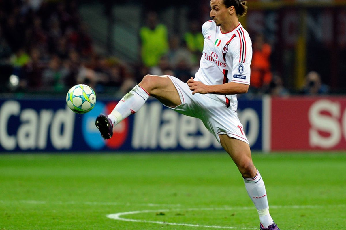 There was to be no fairy-tale goal for Ibra in this leg...