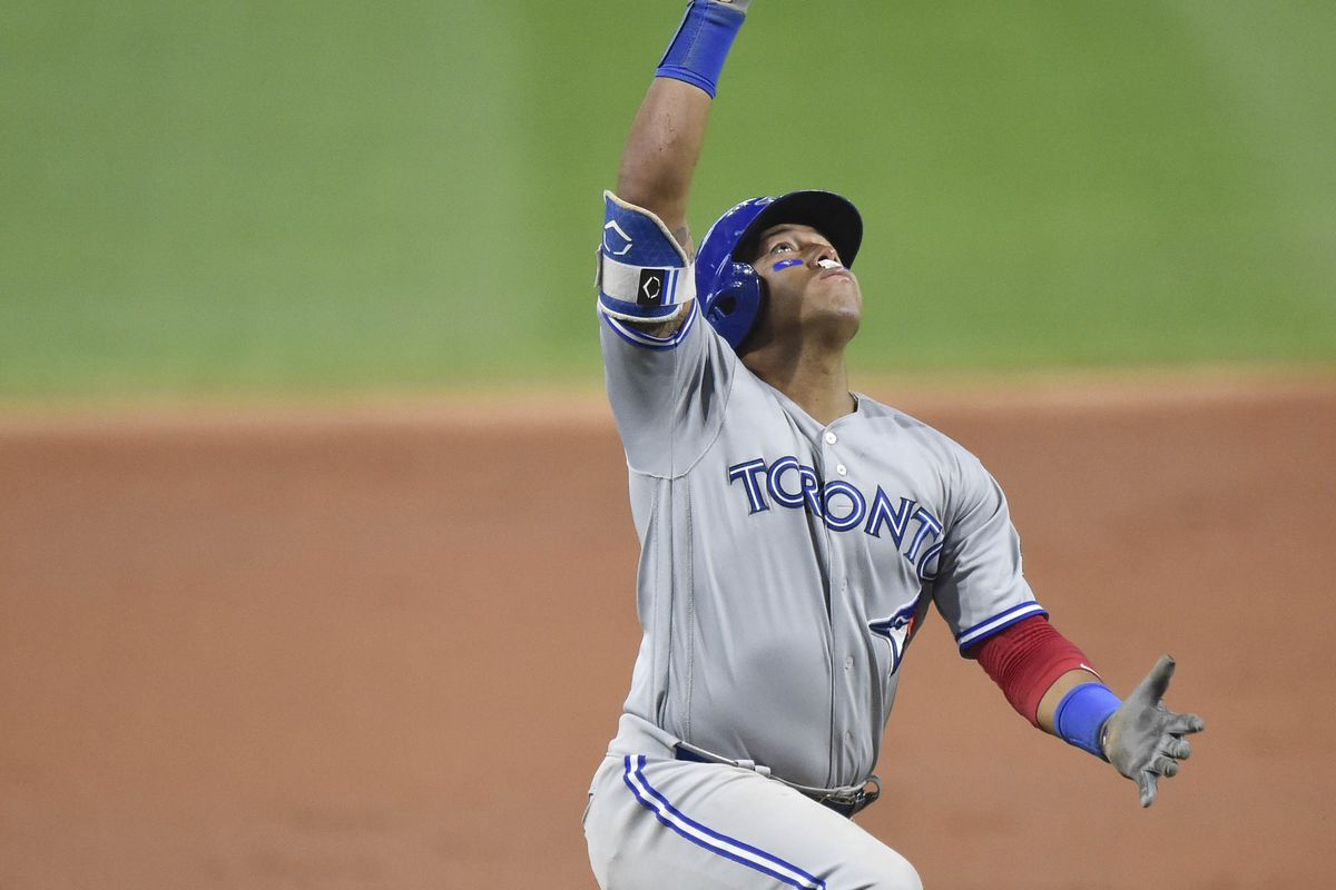 MLB: Game Two-Toronto Blue Jays at Cleveland Indians
