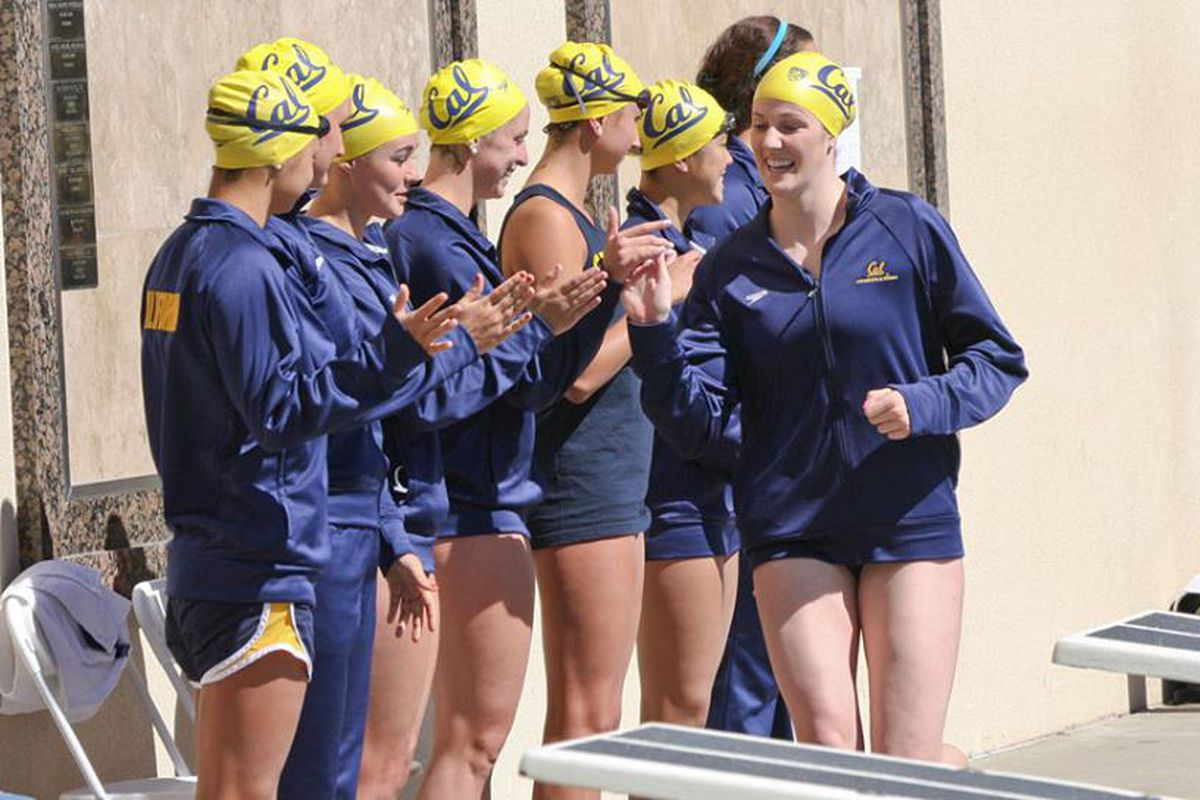 Missy Franklin and the Bears are your 2014 Pac-12 Champions!
