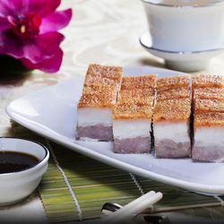 Hong Kong Cafe Macau-style roasted pork belly