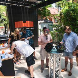 Guests had the opportunity to enter a special sweepstakes from The Verge and Curbed.