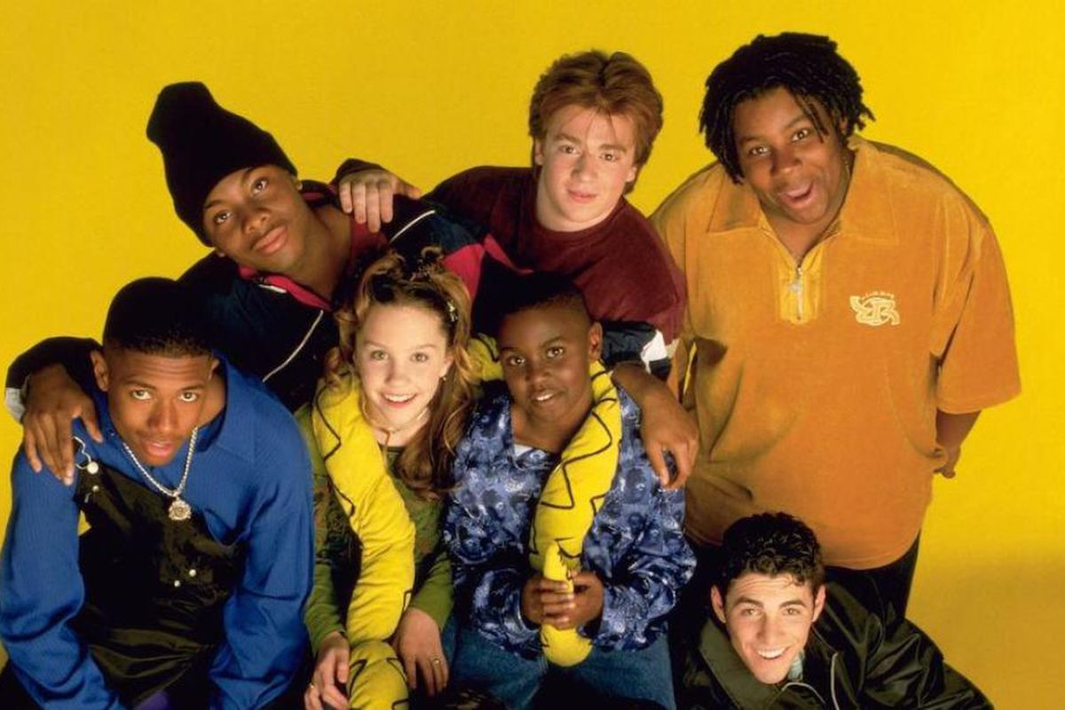 A photo of the cast of All That