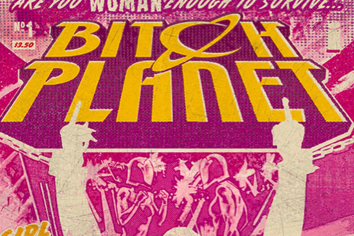 Bitch Planet no.1 cover