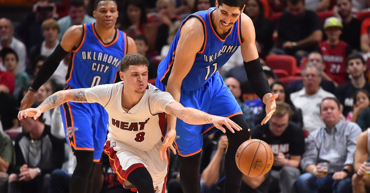 GameThread: Chat Live as the Heat visit the Thunder - Hot ...