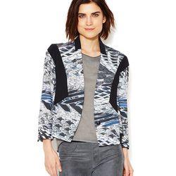 Helmut Lang Pheastant print contrast jacket, reg $795. Gilt City Warehouse Sale price: $80.