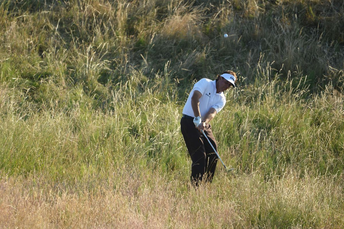 british open 2013 leaderboard  phil mickelson adds early