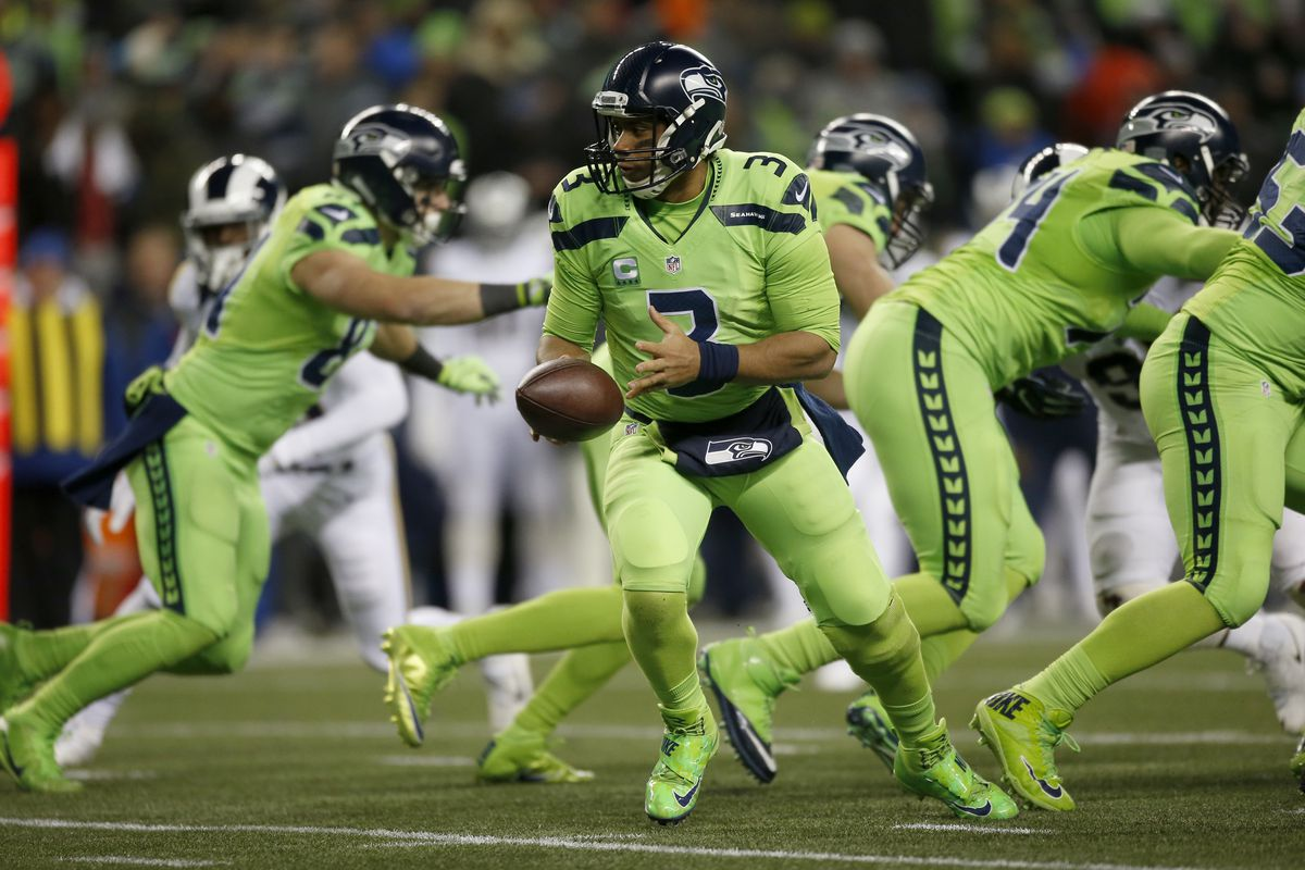 cdbf63f6ab470 Seahawks bringing back 'Action Green' jerseys for Monday Night Football
