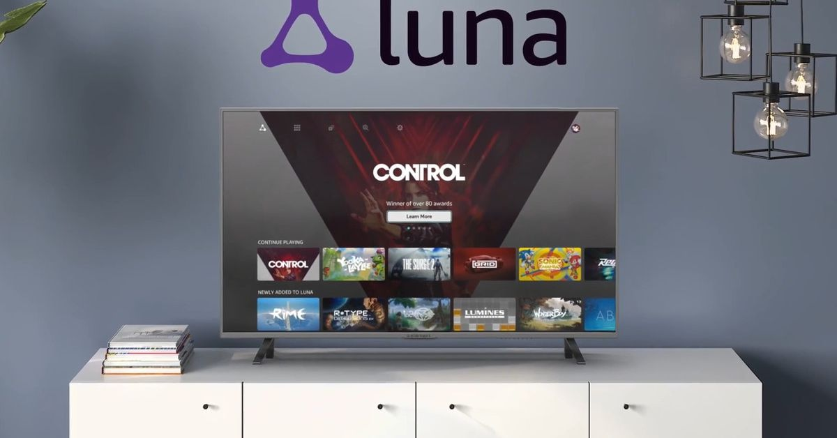 Amazon's cloud gaming service, Luna, is now in early access
