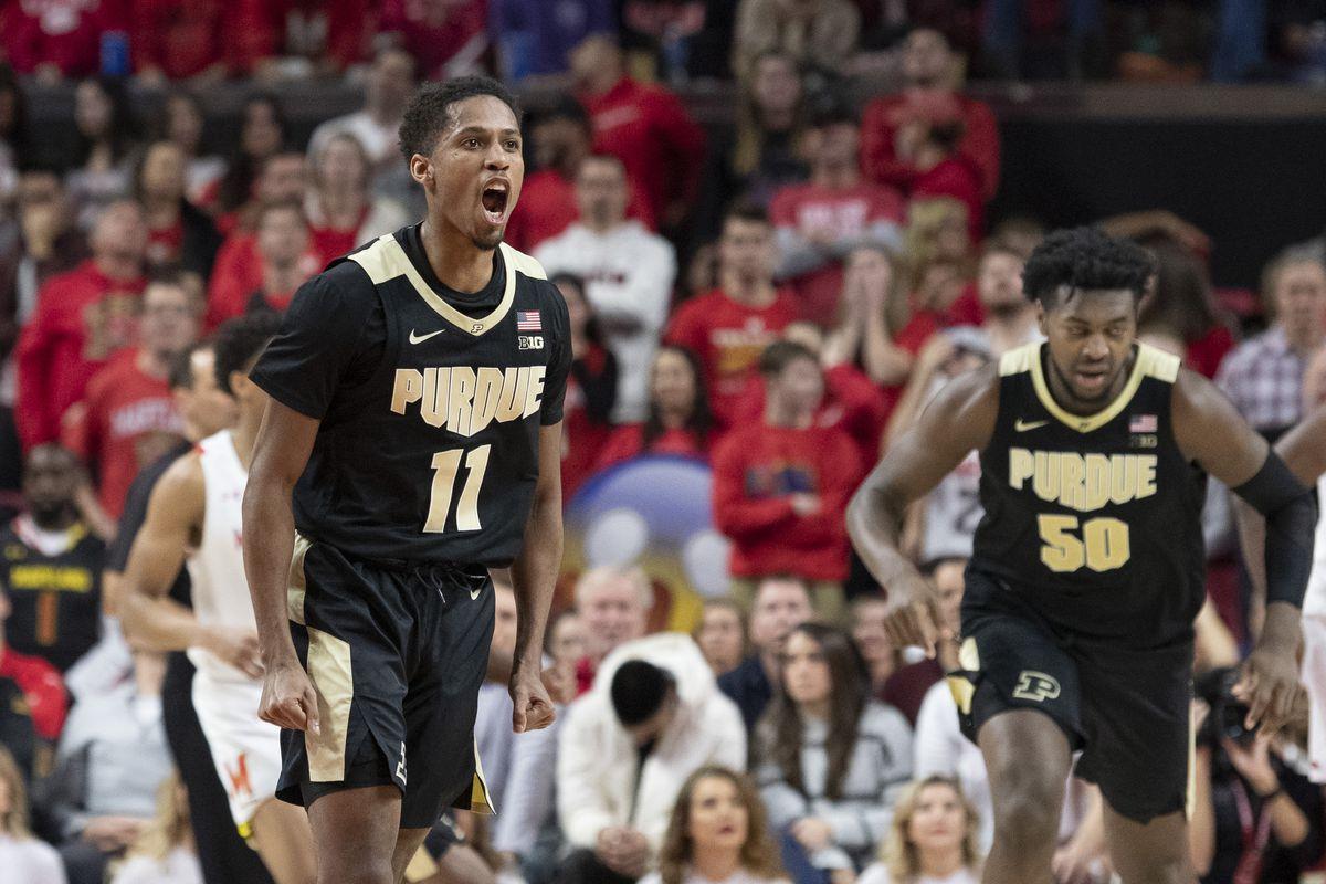 NCAA Basketball: Purdue at Maryland