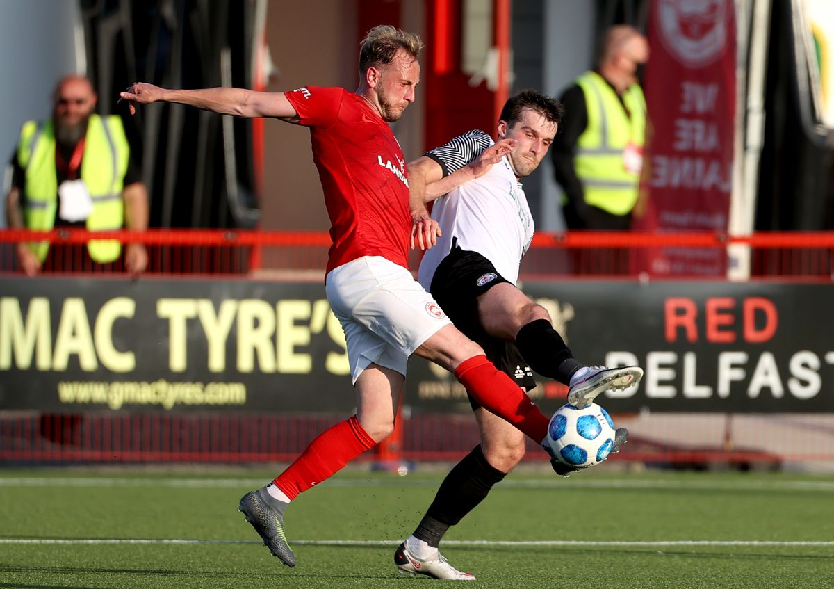 Larne v Bala Town - UEFA Europa Conference League - First Qualifying Round - Second Leg - Inver Park