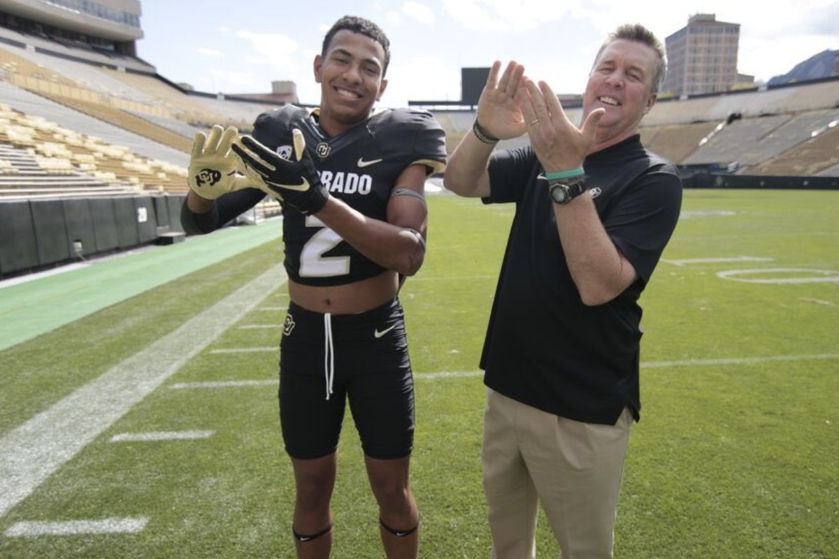 online retailer 8d806 1a615 Colorado Buffaloes Football  Four talented recruits visited Boulder over  the weekend