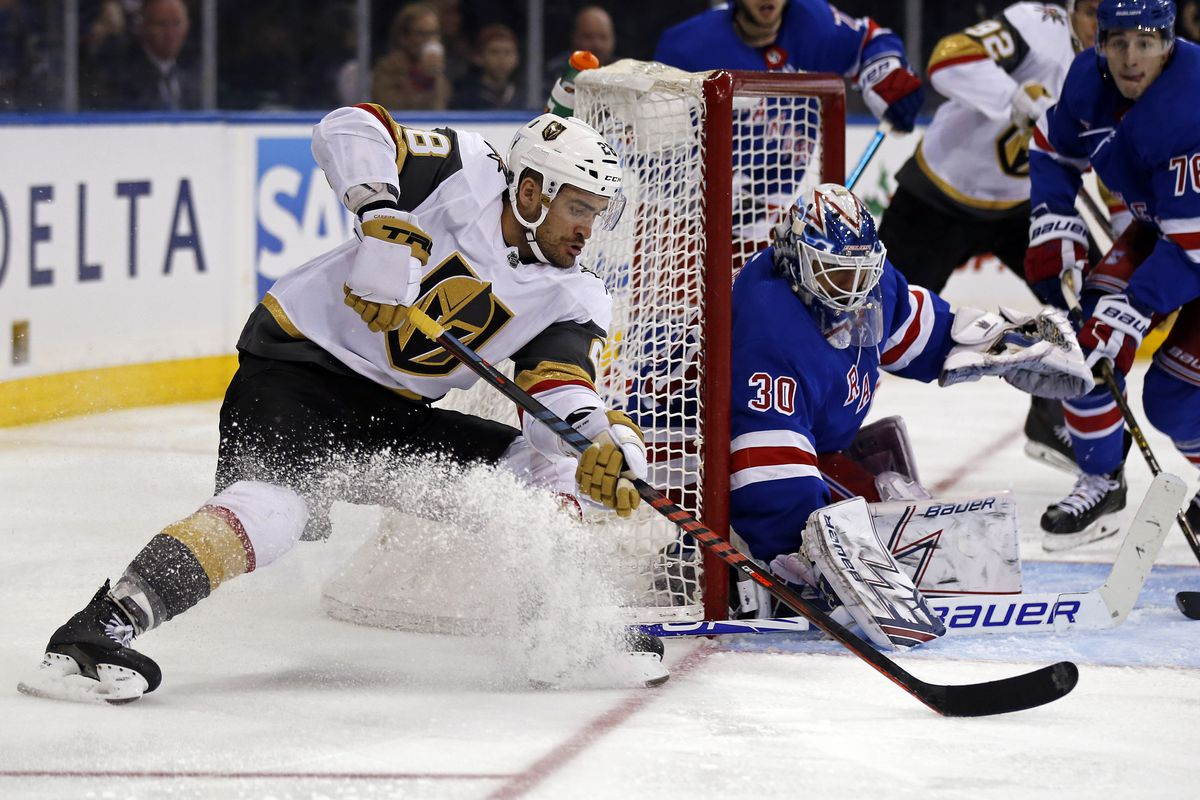 Image result for golden knights vs rangers
