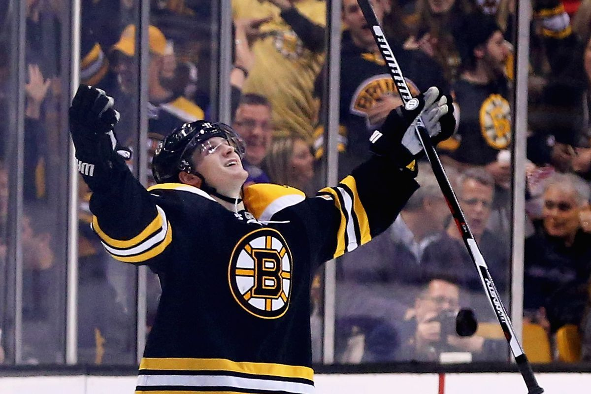 Torey Krug finally netted one!