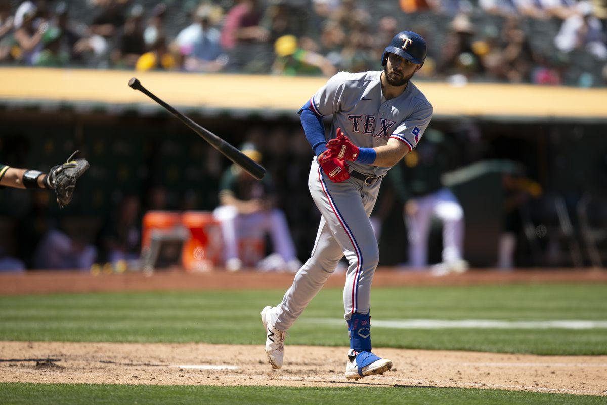 MLB: Texas Rangers at Oakland Athletics
