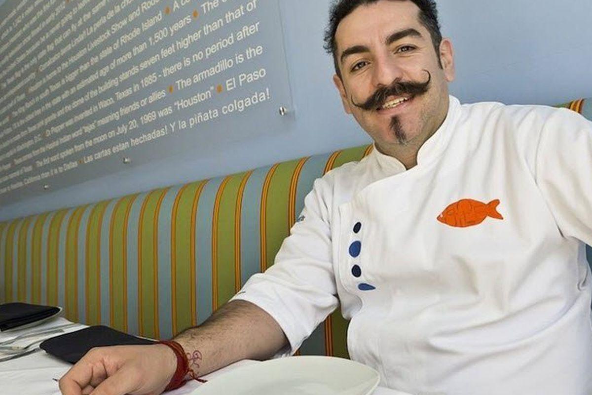Chef Aquiles of La Fisheria