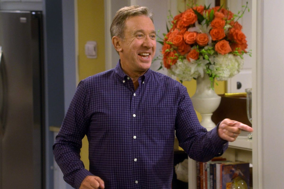 """This image released by Fox shows Tim Allen in a scene from """"Last Man Standing,"""" which reached 8.1 million viewers on Fox last Friday night. (Fox via AP)"""