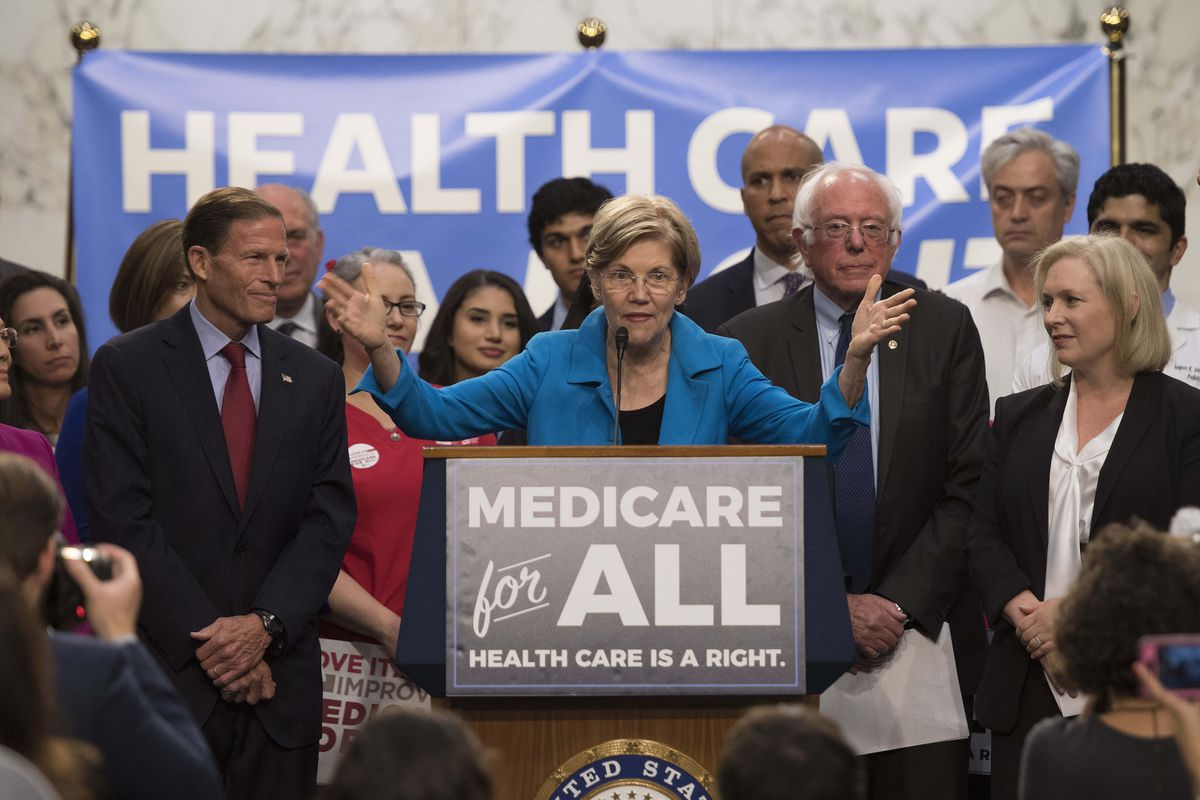 Image result for Elizabeth Warren on healthcare