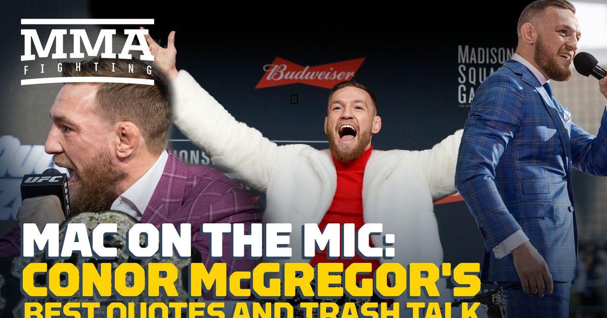 Conor Mcgregor Trash Talk Quotes: Mac On The Mic: Conor McGregor's Best Quotes And Trash