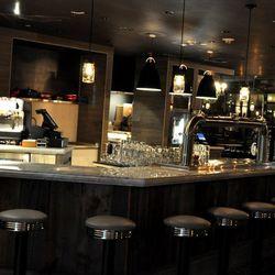 The main bar at Culinary Dropout.