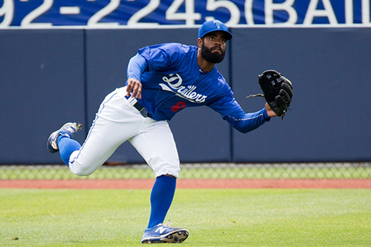 Andrew Toles has been a revelation in the first half of the minor league season.