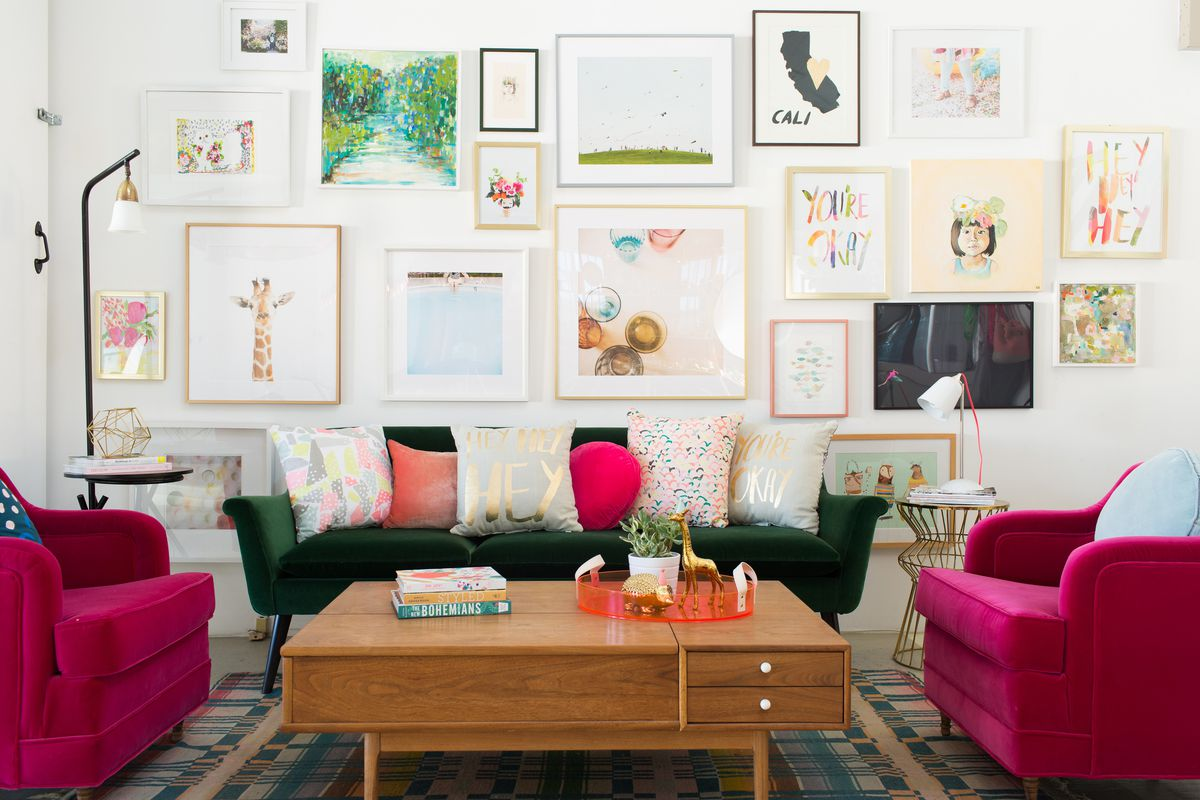 Oh Joy! Joy Cho living room