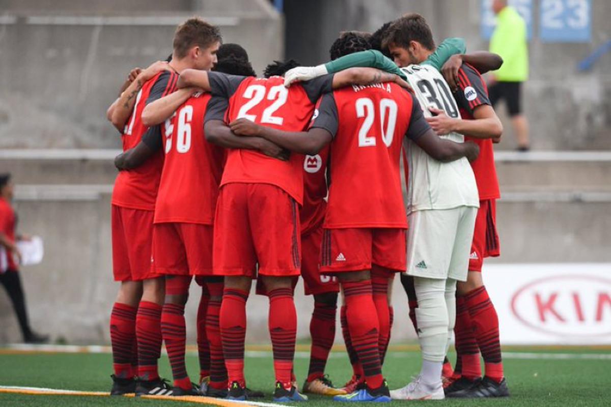 USL Photo - Toronto FC II prepare to take on FC Cincinnati at Lamport Stadium in Toronto
