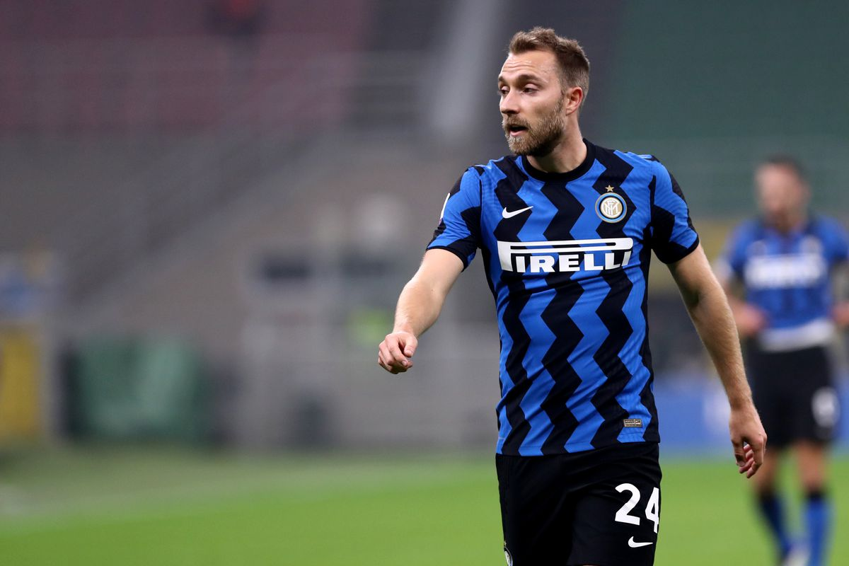 Christian Eriksen of FC Internazionale during The Serie A...