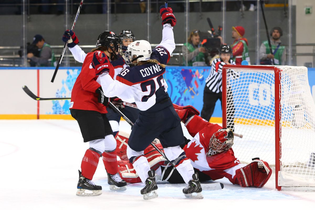 Ice Hockey - Winter Olympics Day 5 - Canada v United States